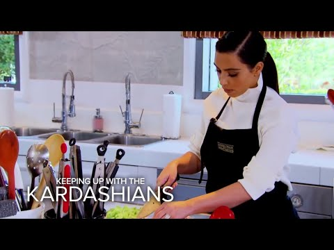 Can Bruce Jenner and Kim Kardashian Learn to Cook? | Keeping Up With the Kardashians | E!