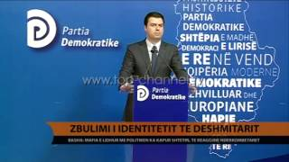 Basha Mafia dekonspiroi dshmitarin  Top Channel Albania  News  L
