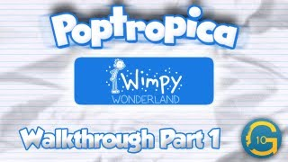 Poptropica Wimpy Wonderland Island Walkthrough Part 1