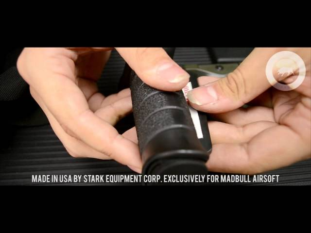 Madbull Airsoft (HD) - Stark SE3 Vertical Foregrips (Made in USA)
