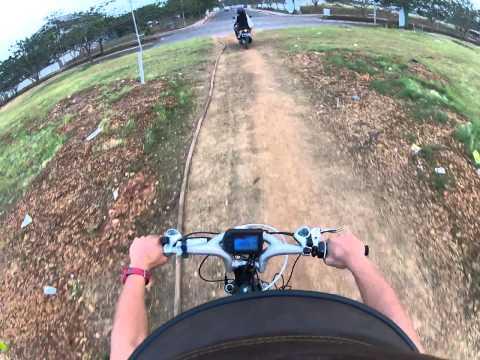 Sepeda elektrik atau listrik  kecepatan 80kph (MTB)