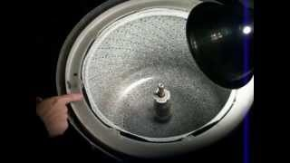 How To Take Off A Spanner Nut On A Kenmore Or Whirlpool