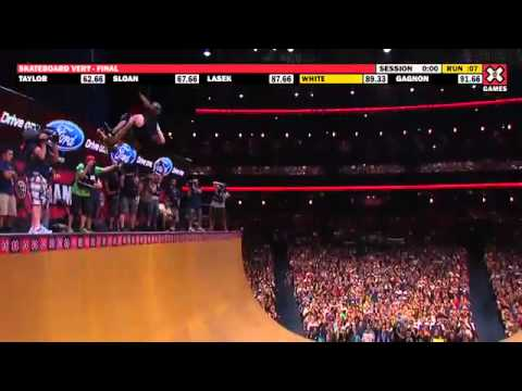 X Games 17: Shaun White takes gold in Skateboard Vert Final -mc8HehH1gSA
