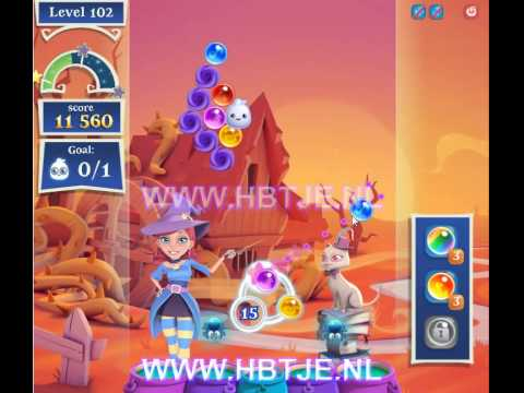 Bubble Witch Saga 2 level 102