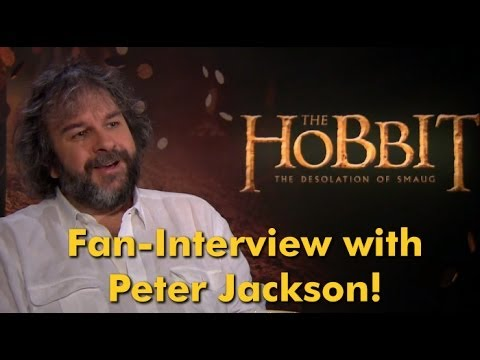 PETER JACKSON talks to Fan about THE HOBBIT: DESOLATION OF SMAUG |