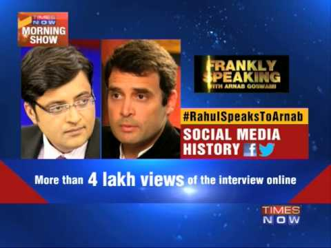 Rahul Gandhi interview shatters social media records