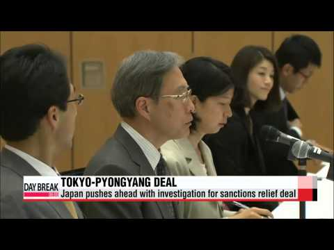 Japan and North Korea iron out details of investigation for sanctions relief deal