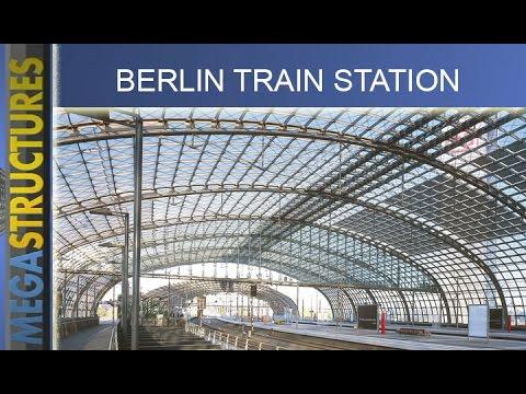 Nhà ga lớn nhất châu Âu ở Berlin