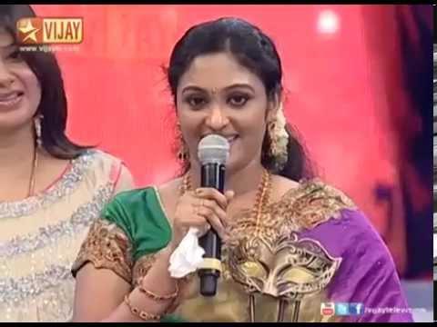 Sreeja Vijay Television Awards  Favourite Actor  Meenakshi