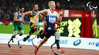 Athletics - Men's 100m - T44 Final - London 2012 Paralympic Games