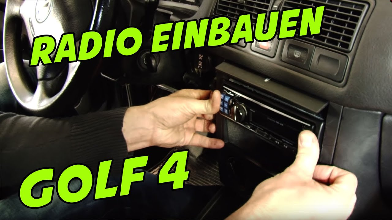 usb autoradio vw golf 4 1 din ars24 com einbau tutorial. Black Bedroom Furniture Sets. Home Design Ideas