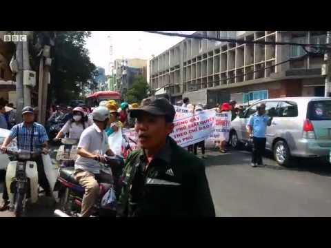 Biểu tình ngày 27/3/2014 ở Sài Gòn