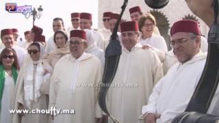 حصري..شوفو الحوار اللي دار بين أخنوش وبنكيران | خارج البلاطو