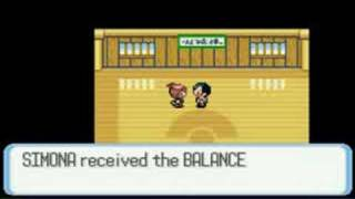 Pokemon Sapphire GBA Getting The Surf