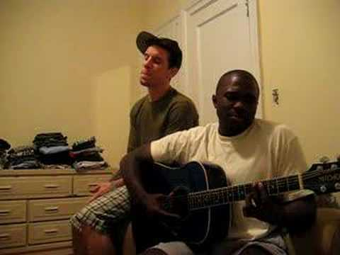 Chris Harbur and Josh Henry Singing I cannot hear the city
