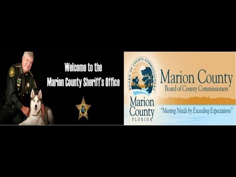 Commander Sangi Blair & Sheriff Chris Blair Speak At Marion County Budget Meeting 2013