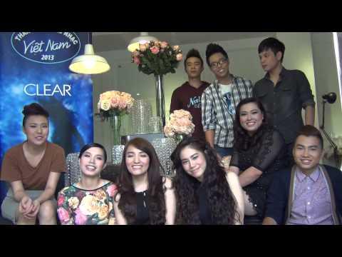 Vietnam Idol 2013 - Top 9 chúc mừng năm mới độc giả 2 Sao