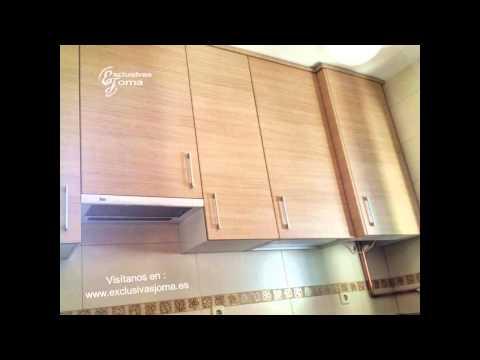 Muebles de cocina en madera con encimera de formica - Muebles de formica ...