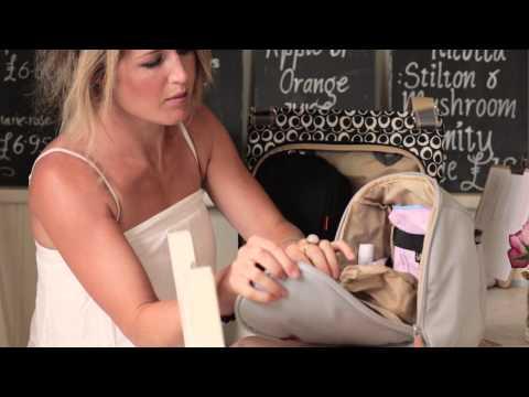 Pacapod Jura Changing Bag Dove