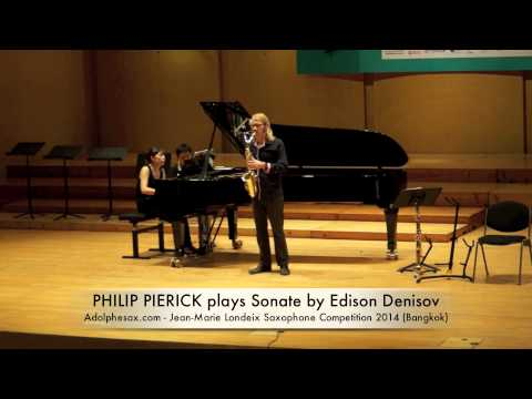 PHILIP PIERICK plays Sonate by Edison Denisov