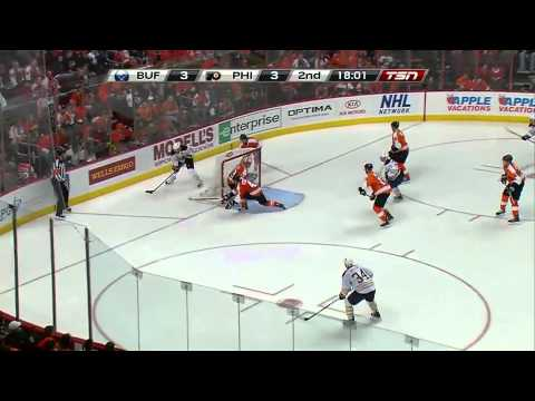 NHL: Flyers vs Sabres Game 2 4/16/11