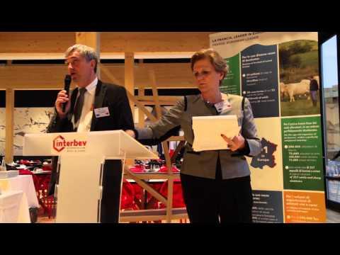 VIDEO - Con INTERBEV, l'allevamento e la carne francese a EXPO 2015