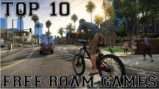 top 10 free roam games pc 2012