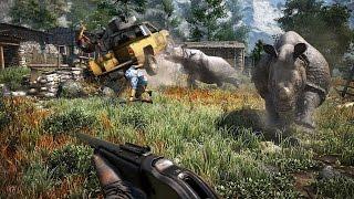Haciendo el cabra con Jarkendia en el coop de Far Cry 4