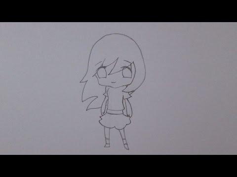 Como desenhar uma garota (versão chibi)