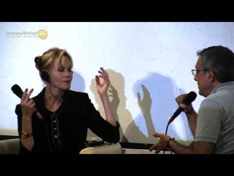 Taormina Film Fest - Tao Class con Melanie Griffith