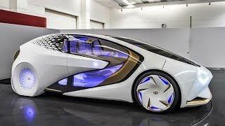 Top 5 Mind blowing Future Cars at CES 2017