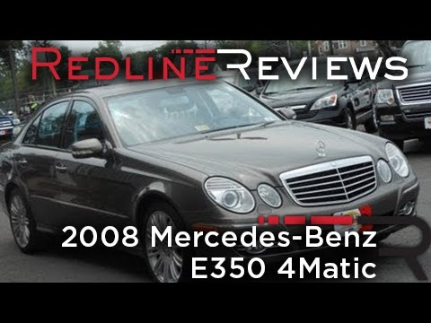 2008 mercedes benz e350 4matic review walkaround start. Black Bedroom Furniture Sets. Home Design Ideas