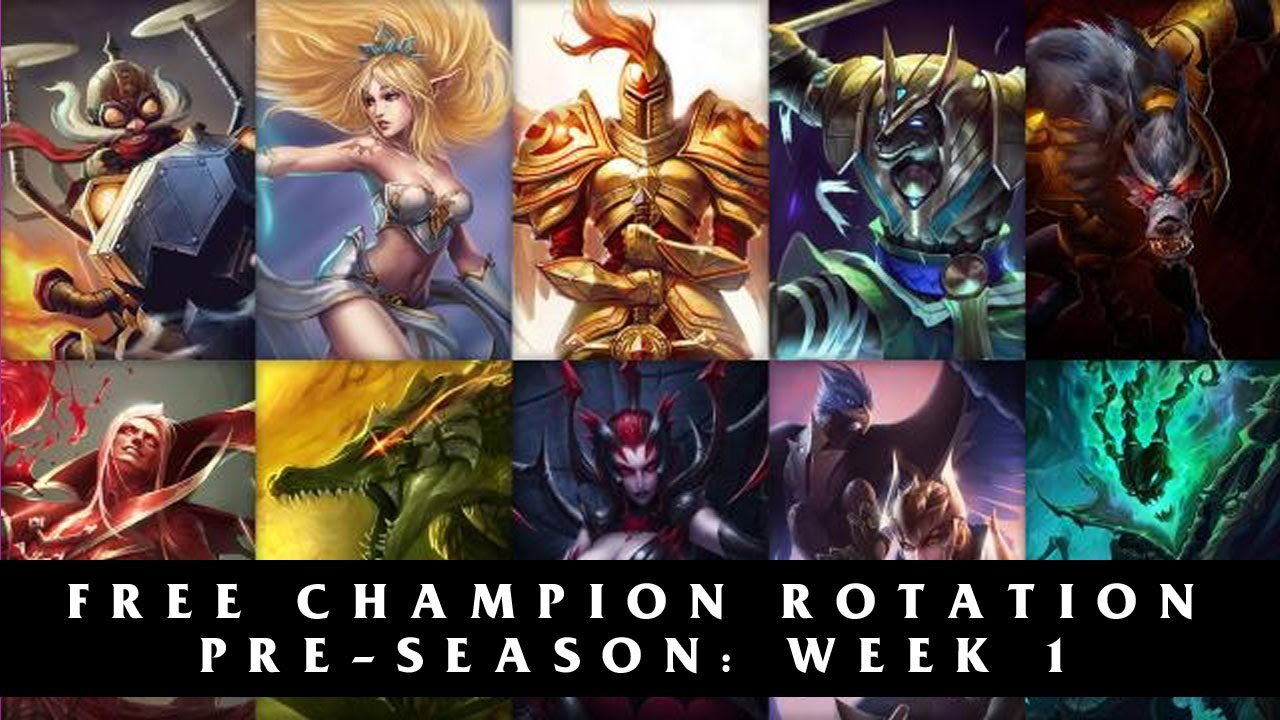 free champs of the week
