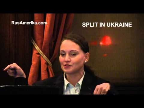 Split in Ukraine. EuroMaidan New York meeting