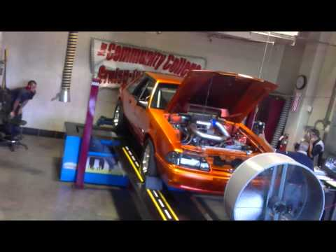 American Petrol Heads: 900hp Foxbody Mustang on the Dyno! Round Three.