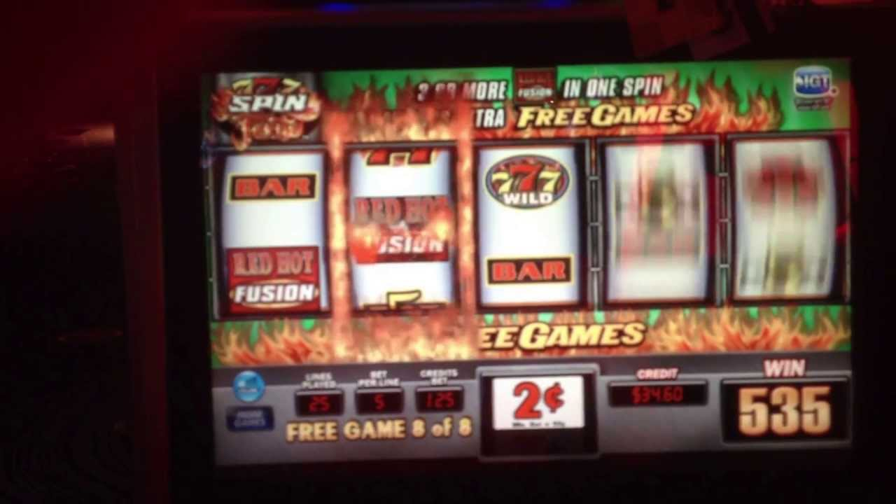 free slots red hot fusion