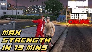 GTA 5 Online: How To Max Strength Solo In 15 Minutes