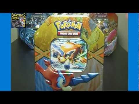 Pokemon Keldeo EX Collector's Promo Tin & Pack Opening (1st Round Tin