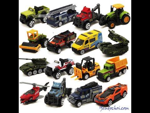 car excavator, car truck, car ambulance..- Funny baby