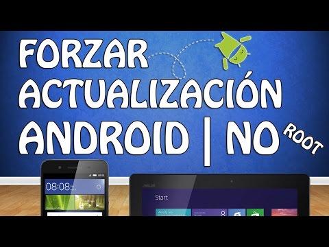 Actualizar Versión Android en Tablet|Teléfono (Sin ROOT y sin Programas) 2017