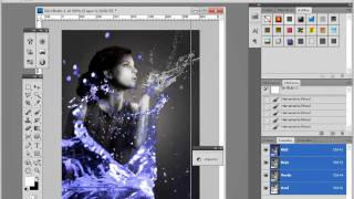 Tutorial Photoshop Crear Efectos De Luz En Photoshop