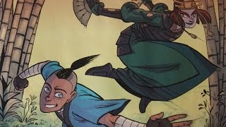 Avatar Shells: Suki And Sokka (FULL COMIC)