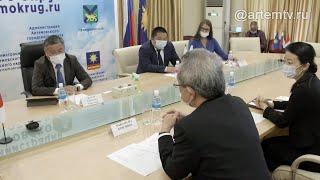 Артем посетил Генеральный консул Японии