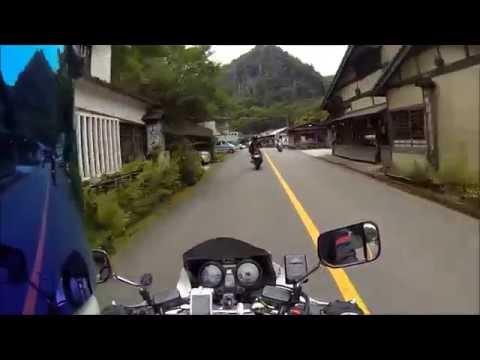 【13】 CB1300SB 鍋ヶ滝ラストツーリングin熊本県 小国