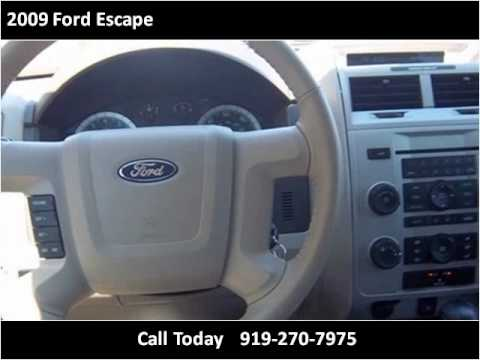 2009 Ford Escape Used Cars Clayton NC