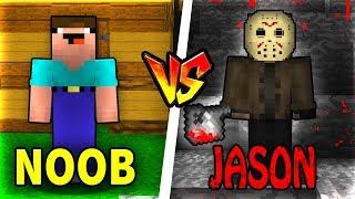THỬ THÁCH Troll NOOB Bằng Sát Nhân JASON Trong Minecraft!!