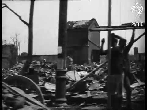 Scenes Of Japan's Earthquake Disaster (1923)