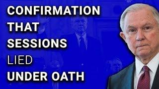 Yep, AG Jeff Sessions Lied Under Oath