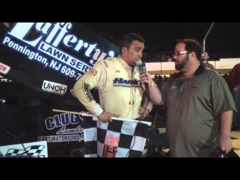 Port Royal Speedway 410 Sprint Car Victory Lane 0-12-14