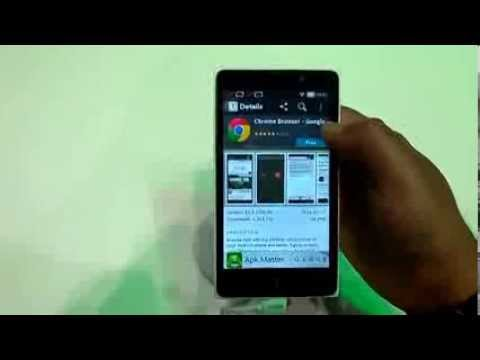Nokia XL android phone hands on review [ Nokia's first android Smartphone series]